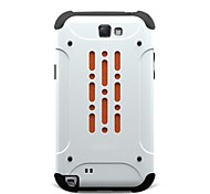 For Samsung Galaxy Note Shockproof Case Back Cover Case Armor PC Samsung Note 2