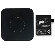 Wireless Charging Pad and Wireless Charging Receiver Included for Samsung Note II 2,N 7100,N 7102 N7105 and Other Qi-Enabled Phones
