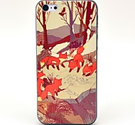 Jungle Foxes Animal Pattern Hard Case for iPhone 5C