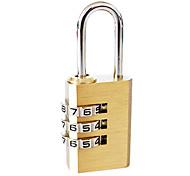 Copper Anti-theft Code Lock