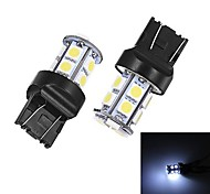 Merdia T20 5W 40ml 13x5050SMD LED White Light for Car Backup Light (A Pair / 12V)