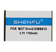 SHENFU 1700mAh Cellphone Battery for Motorola Droid X/MB810