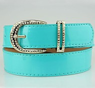 Women Skinny Belt , Party/Casual Leather