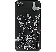 Butterfly Plastic Cover/ Skin Case for iPhone 4/4S