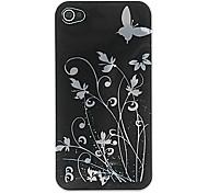 Schmetterling Kunststoff-Cover / Skin für iPhone 4/4S