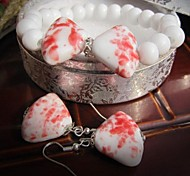 Lovely Contracted Ceramic Jewelry Set (Including Bracelet, Earring)