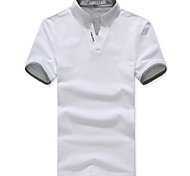 Herren Solid Color Fashion Shirt