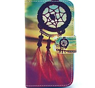 Dream Catcher Pattern PU Leather Case with Card Holder for Samsung Galaxy I8160