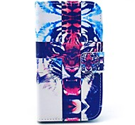 Cross Tiger Pattern Soft Case for Samsung Galaxy Core I8262