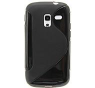 Durable piel Cristal Gel (TPU) Case para Samsung Galaxy Ace 2 I8160