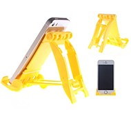 Multifunktions-Klappständer für Samsung / Apple-Telefon / iPad (gelb)