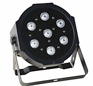 Reallink ®  RGB DMX  7 Led  Business Stage Lights Flat Par High Power Light Professional for Party KTV Disco DJ EU