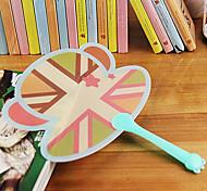 Colorful Hand Holding Fan Gift Fan