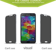 Russian Spanish Engish Version Anti Peeping Tempered Privacy Glass Screen Protector for  Samsung Galaxy S5 i9600