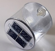 10-LED Solar Powered Novelty Inflatable Rechargeable Night Lamp Light Lantern