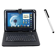 "10"" Universal USB Keyboard Case Stand for Samsung Galaxy Tab P5200/P5100/Note N8000(Stylus Free)"