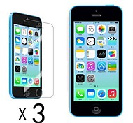 [3-Pack] Ultra Clear LCD Screen Guard Protector for iPhone 5C