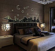 City Pattern Wall Sticker(1PCS)