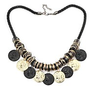 Beauty Picture Pattern Metallic Necklace(1pc)