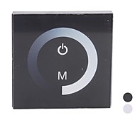 TM06  LED Touch Panel Dimmer for Single Color LED Strip (DC12-24V , 8A  1 Channel Output)