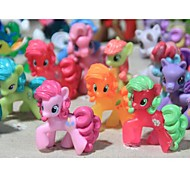 My little pony Loose Action Figures toy 4-6CM Pony Littlest Figure Gift For Kids (Random Color)