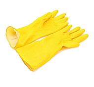 Yellow Latex Gloves