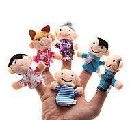 Игрушки Пальцевая кукла Игрушки Милый Хобби и досуг Мальчики / Девочки Плюш