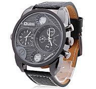 Men's Watch Military Dual Time Zones