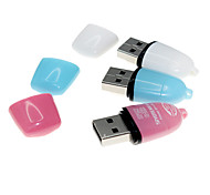 SIYOTEAM ST-115 USB 2.0 Micro SD / Micro TF Card Reader 10 PCS (Farbe sortiert)