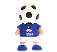 Alemania Francia Argentina Holanda Football Player 2.0 Flash Drive de 8GB USB