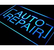 i428 Auto Repair Shop Parts Display Neon Light Sign