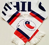 World Cup Gift Soccer Fan Scarf (Chile Style)