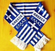 World Cup Gift Soccer Fan Scarf (Greece  Style)