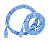 RJ45 macho a macho Networking cable plano 2 Metros 2 PCS