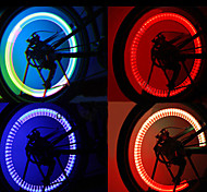 Movimiento intermitente activado multicolores Luces LED de ruedas para bicicletas