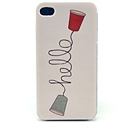 Hard Case retro Ciao Telefono Modello per iPhone 4/4S