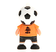 Alemania Francia Argentina Holanda Football Player 2.0 Flash Drive 2GB USB