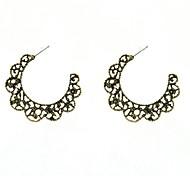 Fashion Flora C Hoop Earrings