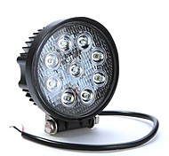 27W 9LED Work Light Fog light for Jeep SUV ATV Off-road Truck Waterproof IP67