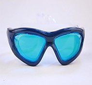 Hot Explosion  Frame Anti Fog Frame Adult Comfortable Blue Swimming Glasses