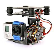 Carbon Fiber Gimbal Brushless Camera Mount + motore per GO PRO DJI Phantom