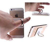 Stainless Steel Ring Stent for iPhone & Cell Phones(White)