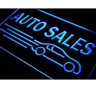 acceso automático las ventas de coches luz de neón