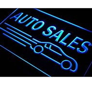 Auto Car Sales Neon Light Sign