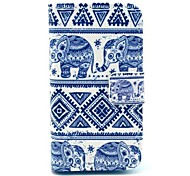 Elephant Pattern Full Body Case for iPhone 5/5S