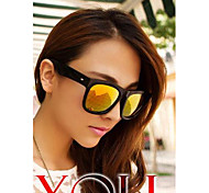 Large Square Frame Sunglasses Fashion Female Models Sunglasses Fashion Glasses for Men and Women(Assorted Color)