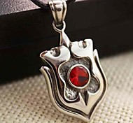 Z&X®  Fashion Shield Titanium Steel Pendant Necklace
