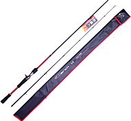 Fish Hunter - 2.13M 2 Sections M Fast Carbon Lure Rod Casting Fishing Rod