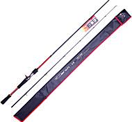 Fish Hunter - 2,13 m 2 sections M rapide Lure Carbon Rod casting canne à pêche