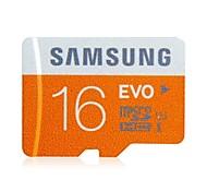 Samsung de alta velocidade 16GB EVO Ultra-fast UHS-1 Card Cartão Micro SD TF Micro SDHC